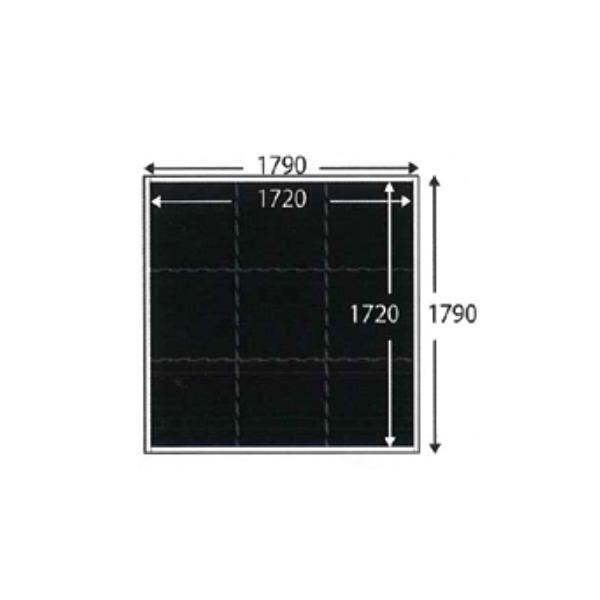 ジムボードユニット スクエアタイプ W1790×L1790×H70mm TJM0061 【送料別途お見積り】