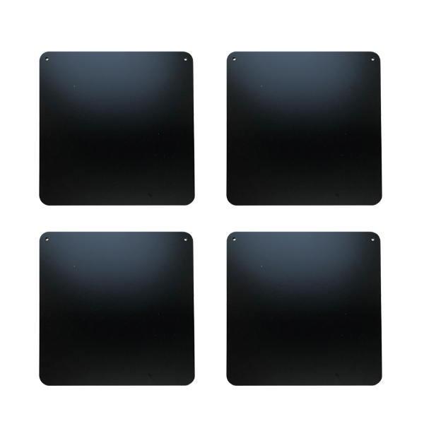 トレッドミル等のマシンの足下に 希望者のみラッピング無料 ジムボード 凹み防止プレートM 4枚セット TJM0072 W300×L300×H5mm 送料別途お見積り 推奨