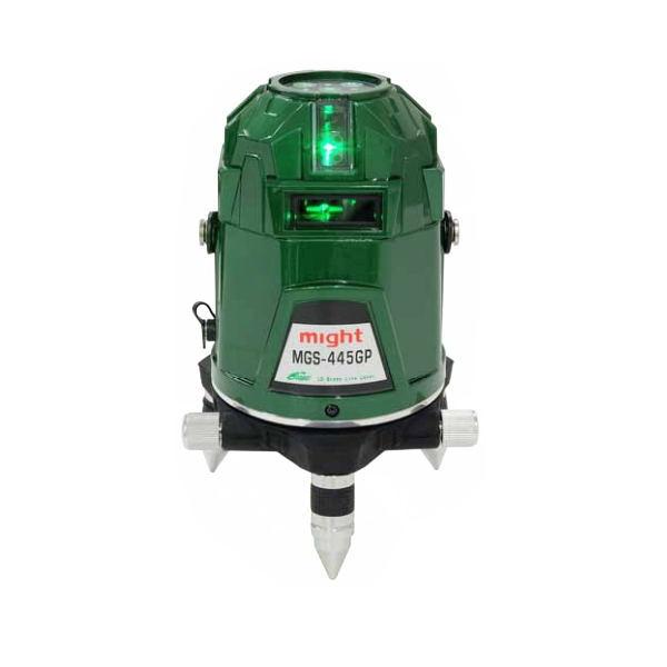 マイト工業 超高輝度グリーンレーザー レーザー墨出し器 MGS-445GP 本体+受光器セット