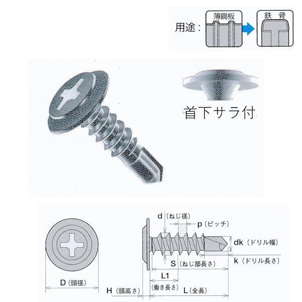 ヤマヒロ UCジャックポイント(三価ユニクロ) 6×150 フラットモドトラス(シンワッシャー) FMJC150 150本