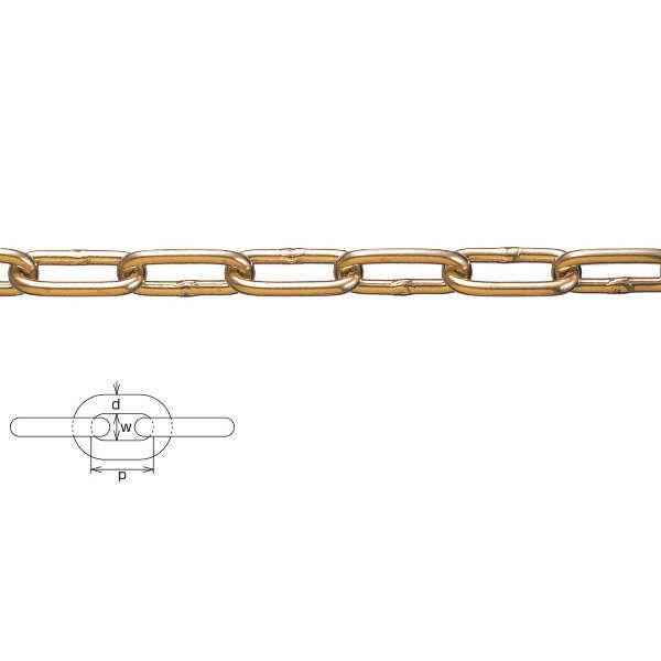 水本機械 黄銅チェーン 9mm BR-9 1m長価格