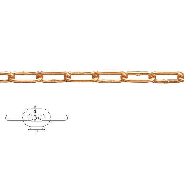 水本機械 銅チェーン 9mm CU-9 1m長価格