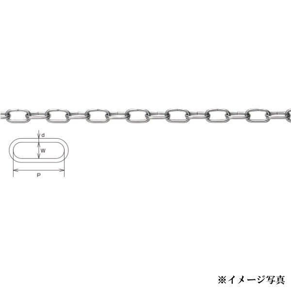 水本機械 SUS304 ステンレスチェーン RCチェーン 6mm 30m巻