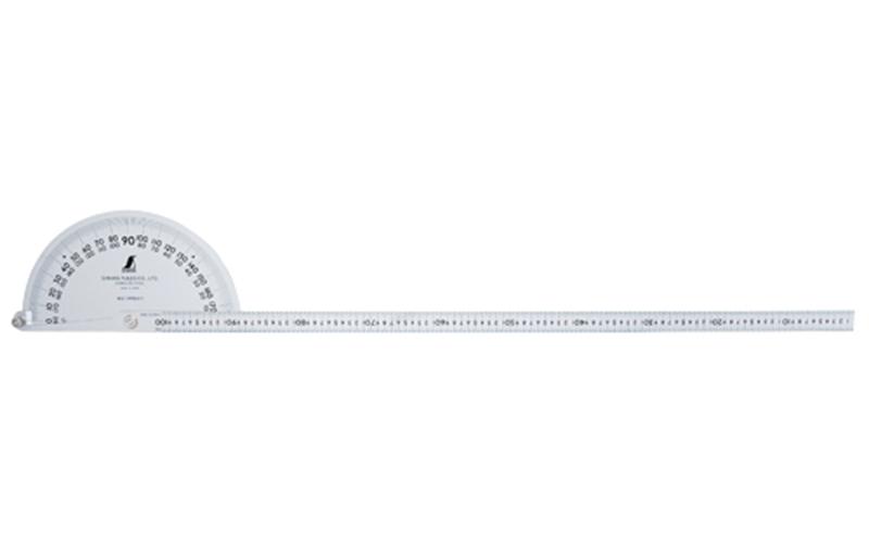 シンワ プロトラクター 1000 シルバー φ320 竿目盛1m 62847