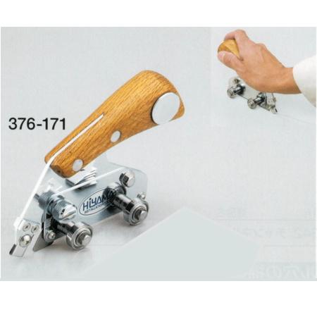 長尺シートの溝切りに最適 U溝掘り工具 スロットカッター 376-171