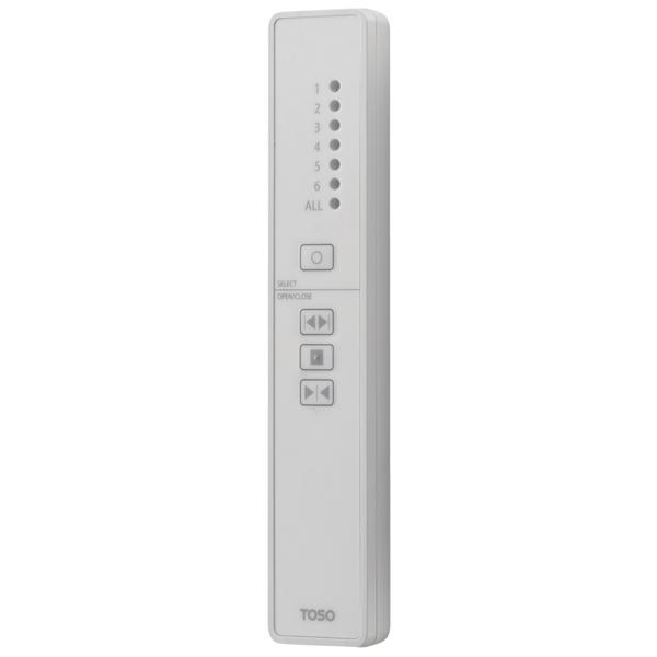 トーソー 電動カーテンレール 操作系統 6チャンネル用 FMリモコン2.4G(6CH) 683386