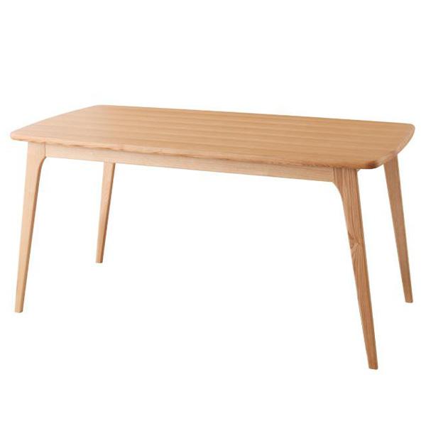 【代引不可】天然木北欧スタイルダイニング《Onnell》オンネル/ダイニングテーブルW150幅150 高さ72 4人掛け 4人用 テーブル ダイニングテーブル 食卓 ダイニング 木製 天然木 タモ 脚 モダン 北欧 ナチュラル 新生活 works