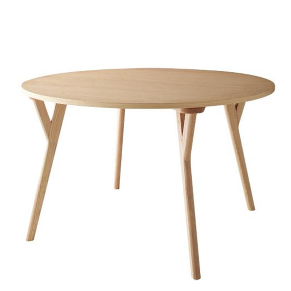 ダイニングテーブル 単品 丸テーブル 120cm 北欧 天然木 Rund ルント works