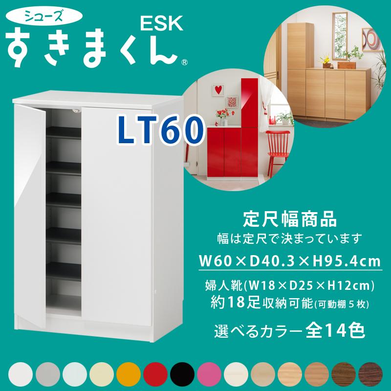 【フジイ】【シューズすきまくん】【定尺幅商品】【玄関収納】新モデル ESP-LT60(旧ESK-LT60) 幅サイズ60cmカラー全14色【一部地域送料無料】【smtb-TK】※受注生産