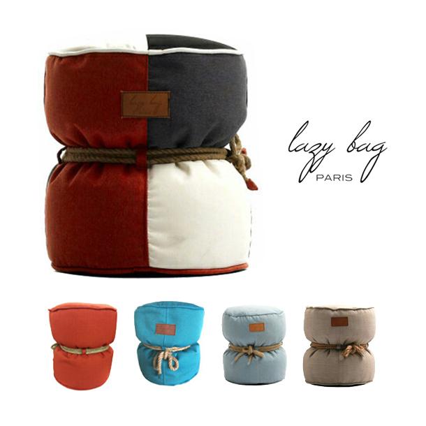 【ファブリックソファ】【1Pソファ】Lazy Bag Paris(レイジーバッグパリス)lazy bag 301-BBビーズクッションMIXカラー グレー オレンジ ブルー【一部地域送料無料】【whlny】