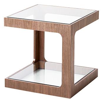 リビング ダイニング リビングテーブル LT-73-W サイドテーブル コーナーテーブル ミニテーブル ホワイト 白 おしゃれ インテリア テーブル ローテーブル シンプル HOMEDAY 桜屋工業 チェリー cherry 送料無料