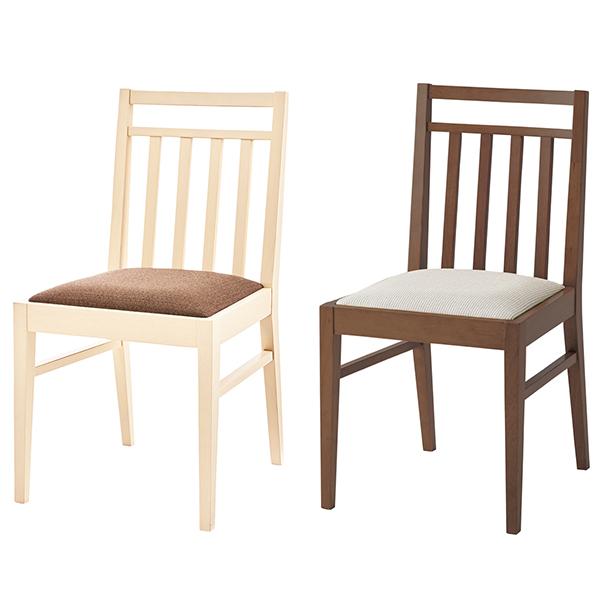 【スーパーセール 9/4 20:00~9/11 1:59】 桜屋工業 椅子 イス 木製 ファブリック 布張り シンプル ナチュラル 北欧風 カントリー DC-125 ダイニングチェア ホワイトウォッシュ モカブラウン 送料無料※2脚以上からご注文承ります
