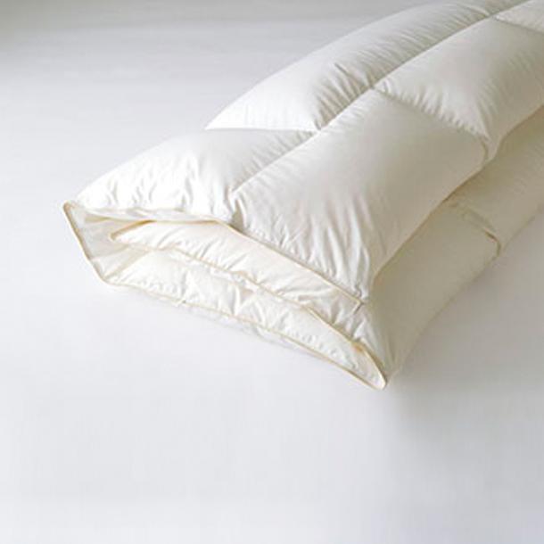 日本ベッド 寝具 寝装品 COMFORTER コンフォーター 掛ふとん プレミアムフォーター95 50821 オフホワイト マザーグース ダウン 95% ベッド 羽毛布団 S シングル SD セミダブル D ダブル CQ クイーン K キング