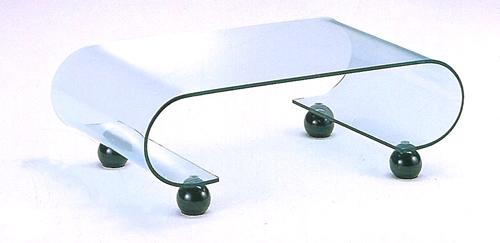 【ガラステーブル】【リビングテーブル】クリスタルテーブル アトスセンターテーブル