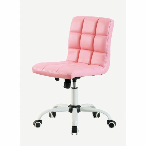 弘益 ホームチェア HONEY(ハニー)チェアBK ブラック WH ホワイト PK ピンク BR ブラウンオフィス家具としても!座昇降機能 ロッキング機構付椅子 高密度ウレタン ソフトレザー一部送料無料