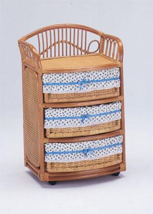 Romantic Rattan 籐(ラタン)家具 籐ランドリーボックス E250 送料無料