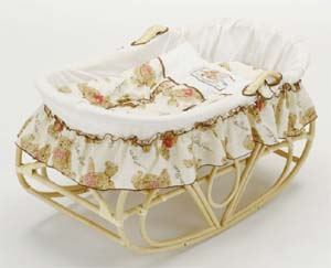 Romantic Rattan 籐(ラタン)家具 籐ヨーラン布団セット(F214A) 送料無料