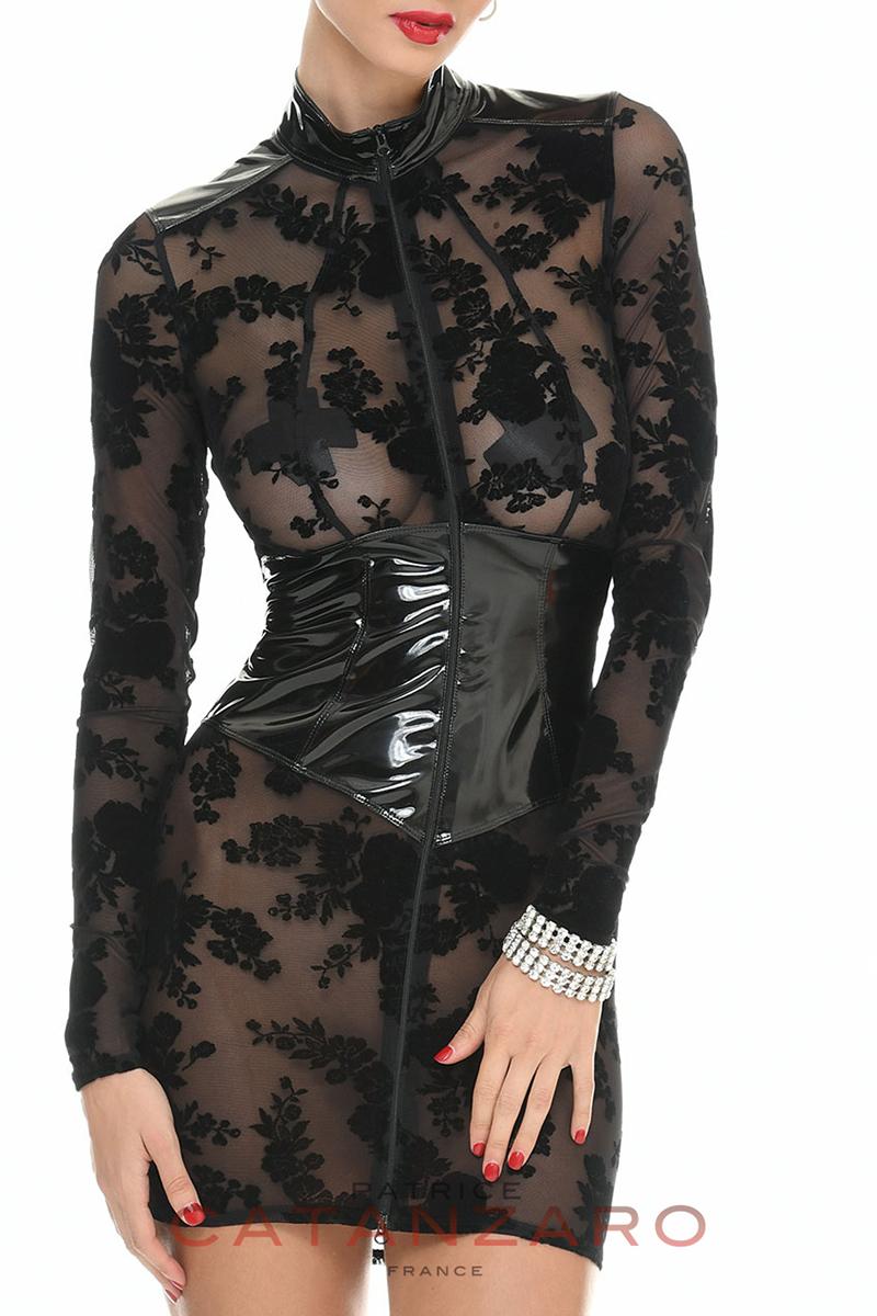 ROSIE ドレス 【トーム15】 フランスのフェティッシュ系ファッション「パトリス・カタンザロ」