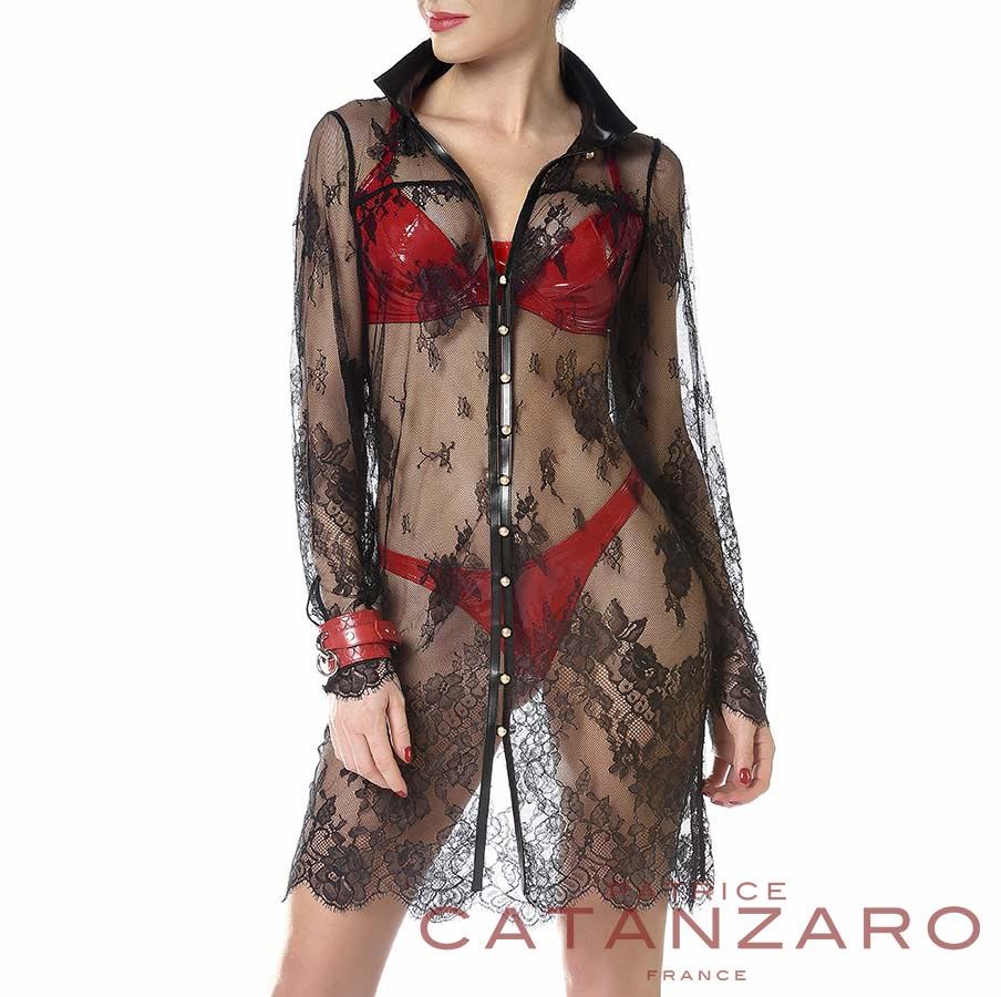 ADELA ドレス 【トーム15.2】 フランスのフェティッシュ系ファッション「パトリス・カタンザロ」
