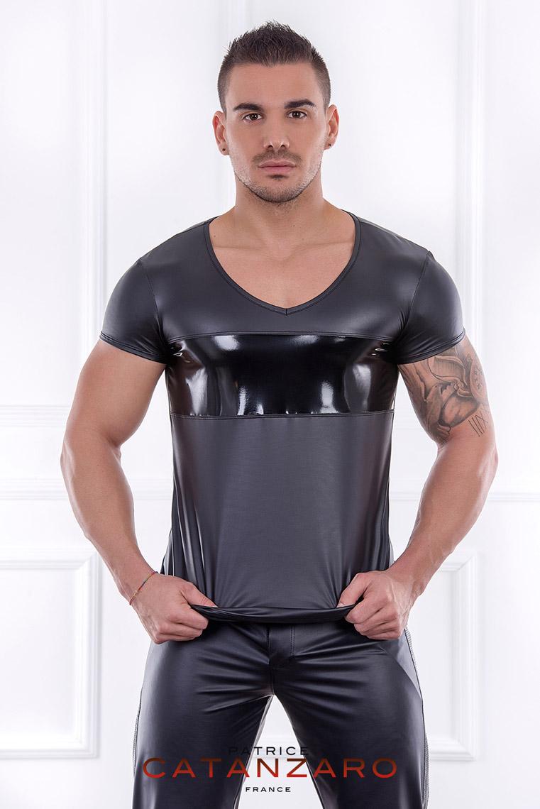 AARON Tシャツ 【メンズ3】 フランスのフェティッシュ系ファッション「パトリス・カタンザロ」