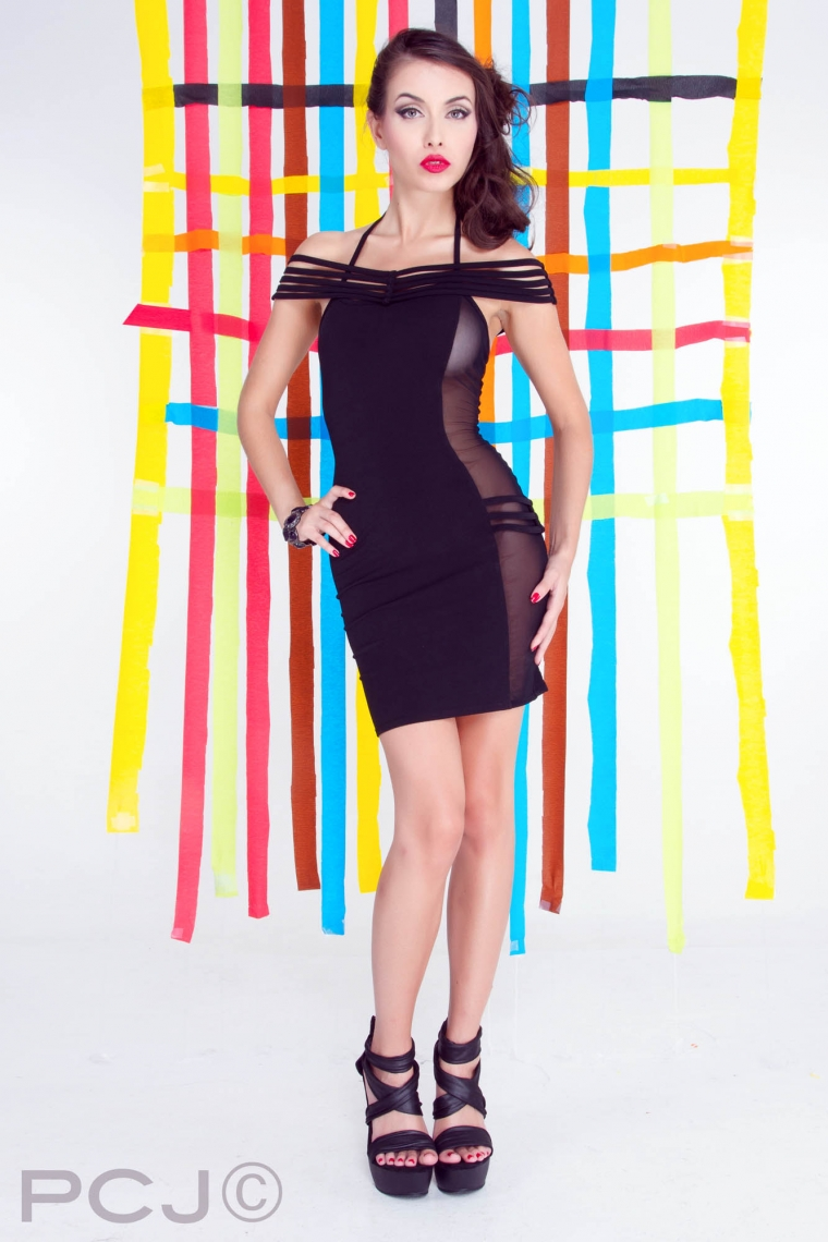 HAILEY ドレス 【プティットフォリ vol.4】 フランスのフェティッシュ系ファッション「パトリス・カタンザロ」