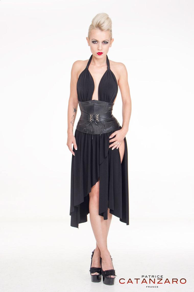 ZAFIRA ドレス 【プティットフォリ vol.5】 フランスのフェティッシュ系ファッション「パトリス・カタンザロ」