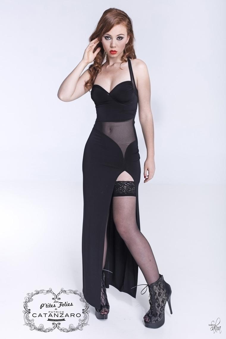 SAMERA ロングドレス 【プティットフォリ vol.5】 フランスのフェティッシュ系ファッション「パトリス・カタンザロ」
