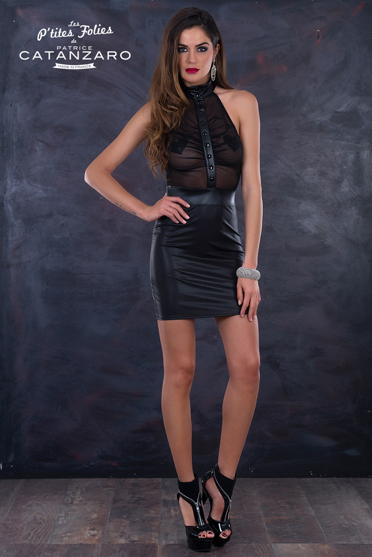 JANE ドレス 【プティットフォリ vol.6】 フランスのフェティッシュ系ファッション「パトリス・カタンザロ」