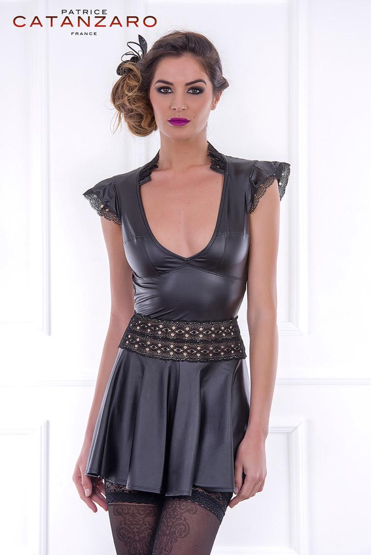 FASSETT ドレス 【トーム13】 フランスのフェティッシュ系ファッション「パトリス・カタンザロ」