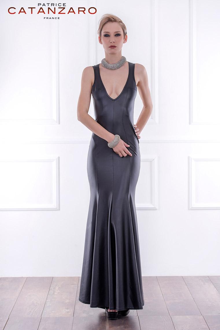 BIANCA ロングドレス 【トーム13】 フランスのフェティッシュ系ファッション「パトリス・カタンザロ」