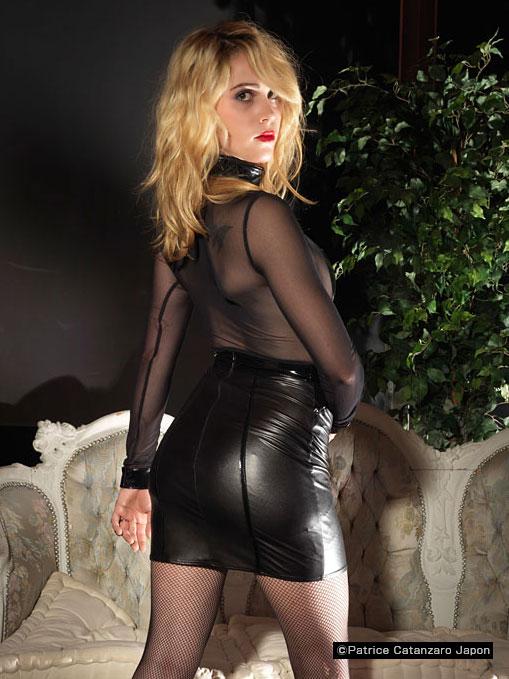 CALINDA スカート 【TOME9】 フランスのフェティッシュ系ファッション「パトリス・カタンザロ」