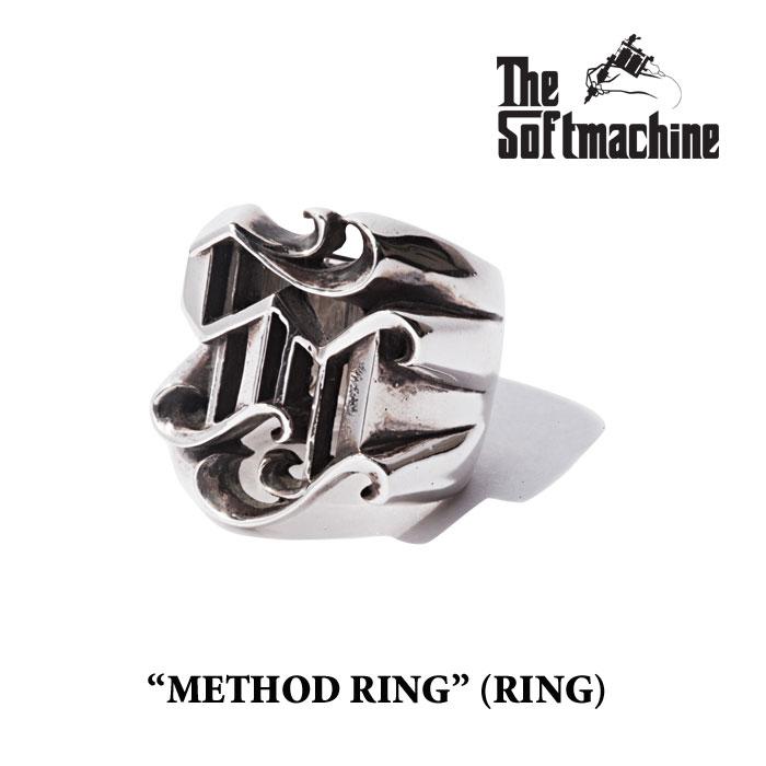 SOFTMACHINE ソフトマシーン METHOD RING RING 先行予約 キャンセル不可 シルバーリング 指輪 通夜 お祝 謝礼