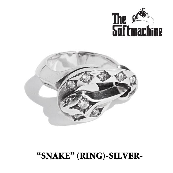 SOFTMACHINE(ソフトマシーン)SNAKE(925SV+CZ)【2019SPRING&SUMMER先行予約】【キャンセル不可】【SOFTMACHINE リング】