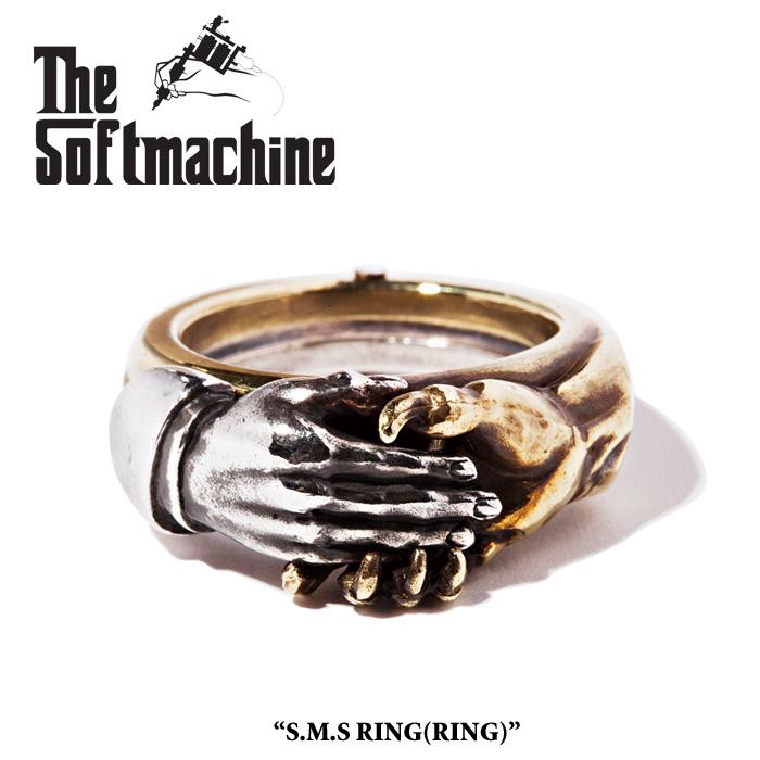 『SOFTMACHINE(ソフトマシーン) 2019SPRINGSUMMER 先行予約』 SOFTMACHINE(ソフトマシーン)S.M.S RING(RING)【2019SPRINGSUMMER 先行予約】【キャンセル不可】【SOFTMACHINE リング】