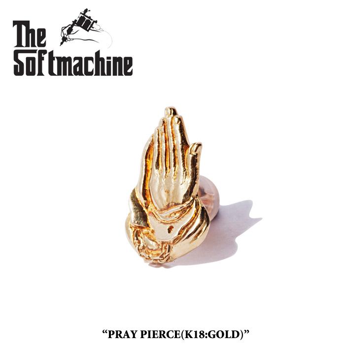 SOFTMACHINE(ソフトマシーン)PRAY PIERCE(PIERCE)(K18)【2019SPRING&SUMMER 先行予約】【送料無料】【SOFTMACHINE(ソフトマシーン) ピアス】