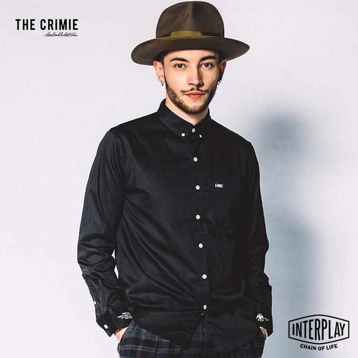 【先行予約】クライミー CRIMIE ハーヴィーボタンダウンストレッチシャツ HARVEY B.D STRETCH SHIRT CR1-02L5-SL04 HARVEY ボタンダウン ストレッチ シャツ