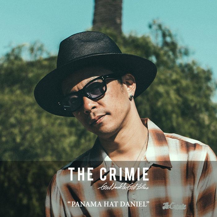 CRIMIE(クライミー)PANAMA HAT DANIEL【2018SPRING/SUMMER先行予約】【送料無料】【キャンセル不可】【C1H1-C1G3-HT01】【CRIMIE ハット】