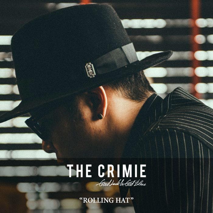 CRIMIE(クライミー)ROLLINGHAT【2018AUTUMN/WINTER先行予約】【送料無料】【キャンセル】【C1H5-CXHT-RH01】【CRIMIEローリングハット】
