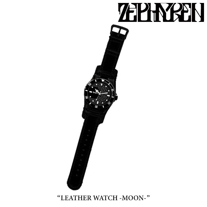 ZEPHYREN(ゼファレン)LEATHER WATCH -MOON-【2018SPRING/SUMMER先行予約】【送料無料】【キャンセル不可】【Z18PX01】