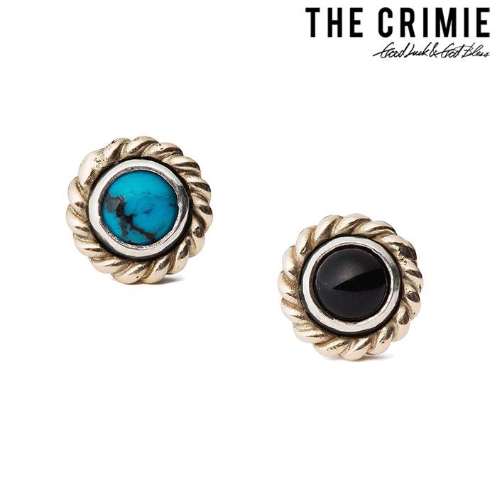 CRIMIE(クライミー)G & G 10K ONYX PIERCE【2018 SUMMER先行予約】【送料無料】【キャンセル不可】【C1H3-CXAG-GP02】【CRIMIE ピアス】