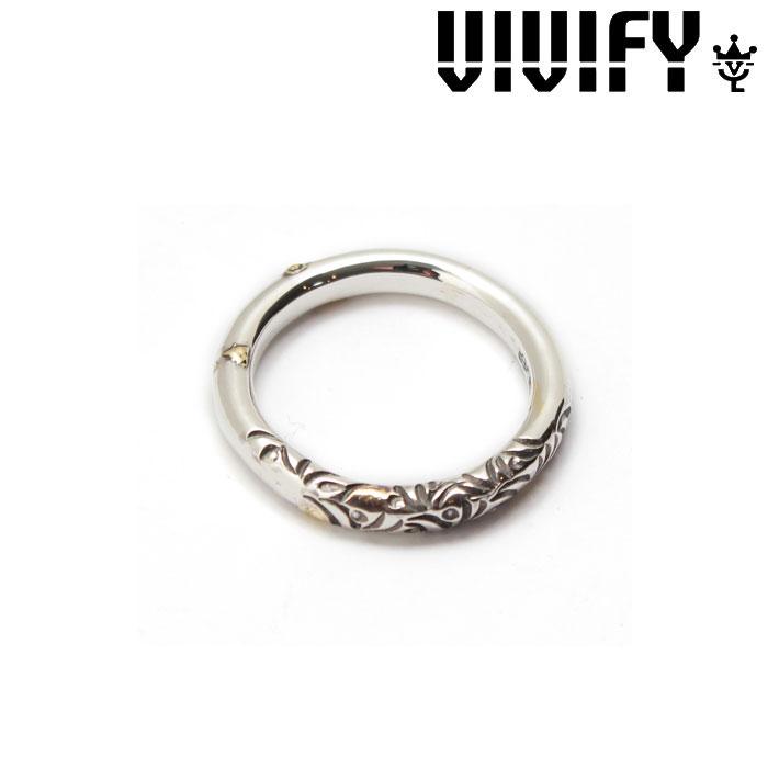 VIVIFY(ヴィヴィファイ)(ビビファイ)Arabesque Ring w/gold(3mmbody)【オーダーメイド 受注生産】【キャンセル不可】【VIVIFY リング】【VFR-120】