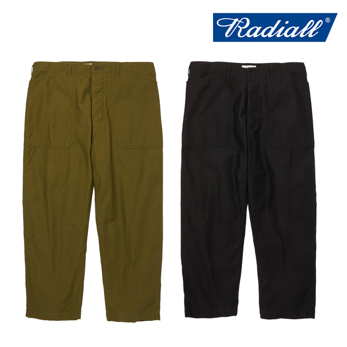RADIALL 新作 ワークパンツ SALE30%OFF ラディアル OAK TOWN - 最新アイテム 2020 PANTS 定番キャンバス COLLECTION WIDE WORK AUTUMNWINTER FIT RAD-20AW-PT003