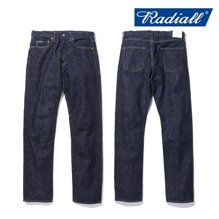 RADIALL(ラディアル)KUSTOM 235B SLIM FIT PANTS【2018 SPRING&SUMMER新作】【送料無料】【即発送可能】【RAD-DNM-PT001】