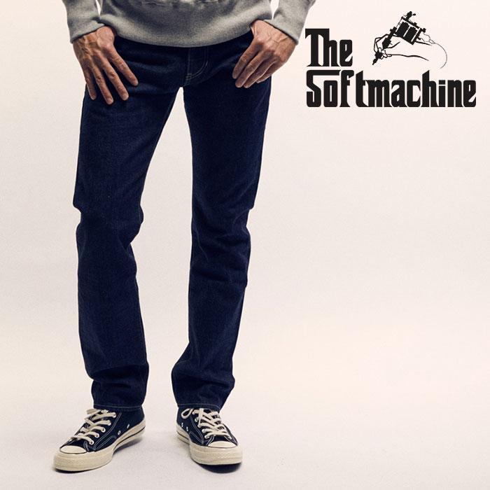 SOFTMACHINE(ソフトマシーン)NEW LIFE SLIM(DENIM PANTS)【2019SPRING&SUMMER先行予約】【キャンセル不可】【デニムパンツ】