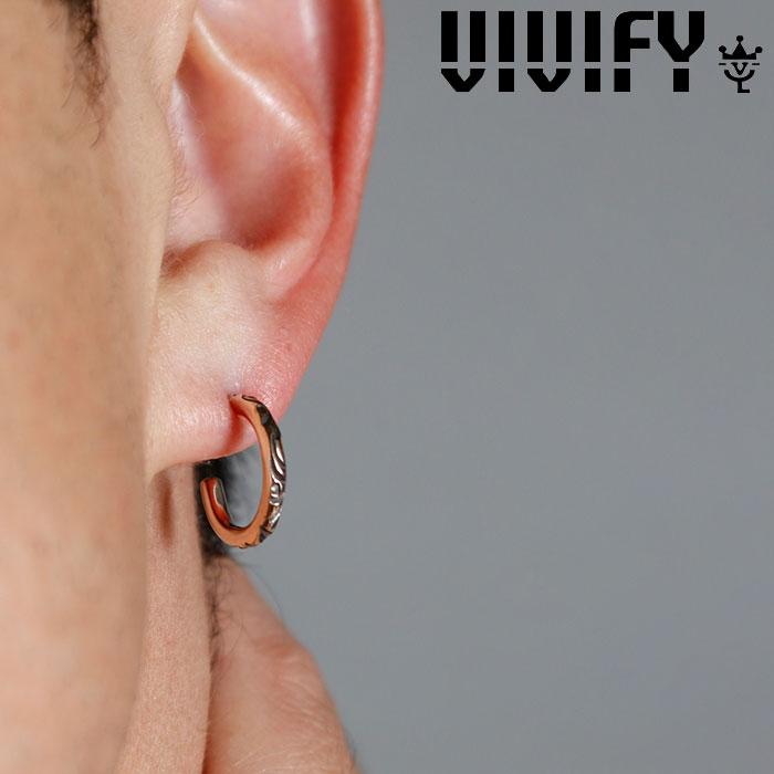 VIVIFY(ヴィヴィファイ)(ビビファイ)Onemake Arabesque Pierce k10gold(2mm body)【VIVIFY ピアス】【VFP-257】【オーダーメイド ハンドメイド 受注生産】【キャンセル不可】