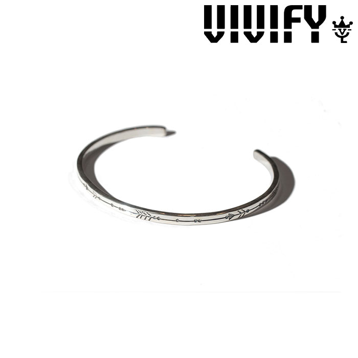 VIVIFY(ヴィヴィファイ)(ビビファイ)One Line Arrow Bangle【オーダーメイド 受注生産】【キャンセル不可】【ハンドメイド バングル】【VFB-134】