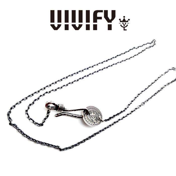 VIVIFY(ヴィヴィファイ)VIVIFY Coin Clasp Chain【オーダーメイド 受注生産】【キャンセル不可】【ネックレス】【VFC-016】