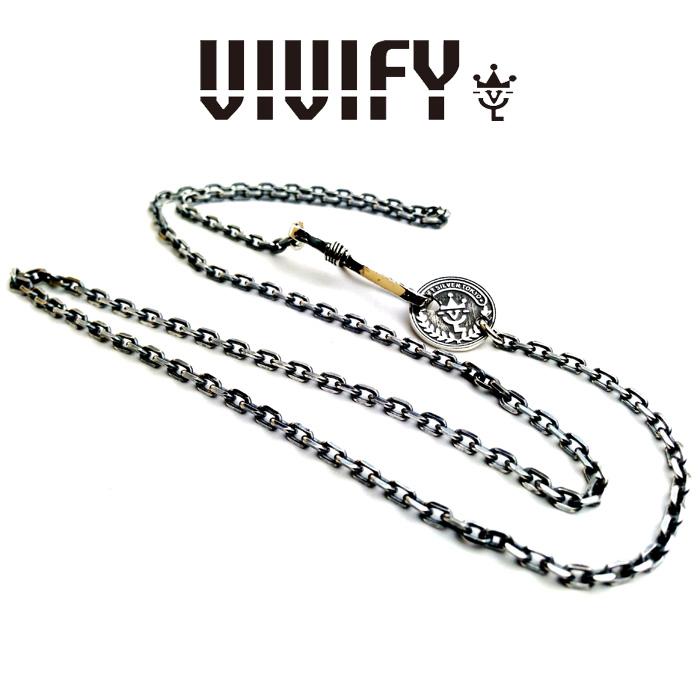 VIVIFY(ヴィヴィファイ)VIVIFY Coin Clasp Chain【オーダーメイド 受注生産】【キャンセル不可】【ネックレス】【VFN-018】