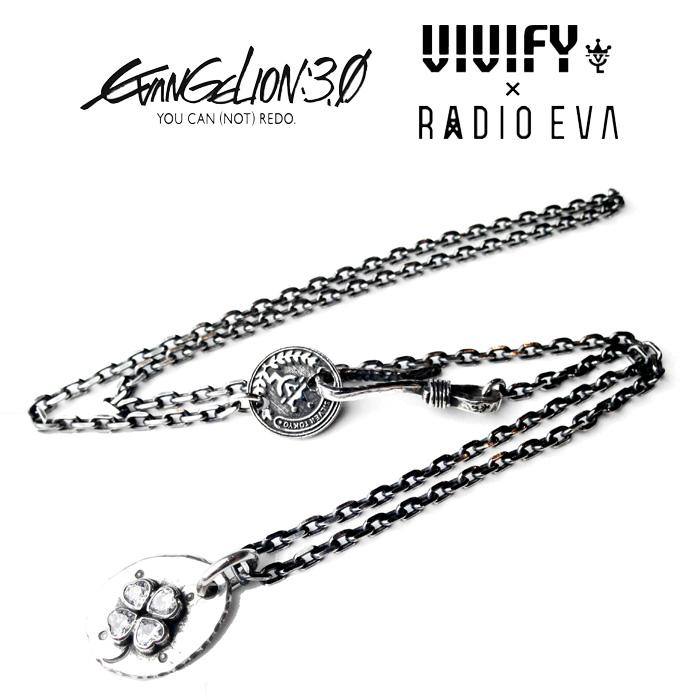 VIVIFY(ヴィヴィファイ)Small Plate Necklace/四葉【受注生産 オーダーメイド】【キャンセル不可】【ネックレス】【VFN-219】
