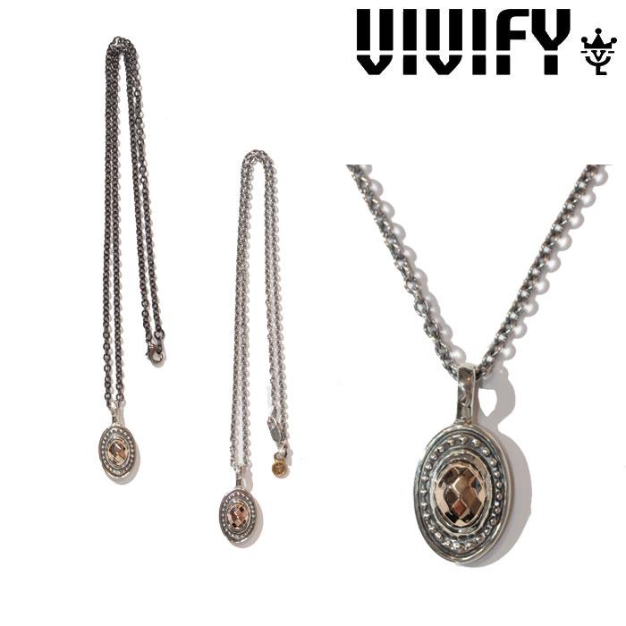 VIVIFY(ヴィヴィファイ)(ビビファイ) K10CheckerCutStone Setting Necklace【オーダーメイド 受注生産】【キャンセル不可】【ハンドメイド ネックレストップ】【VFN-262】